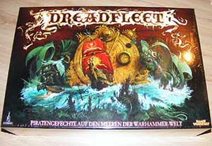 Dreadfleet Miniaturen unboxing des Brettspiels